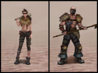 Burden Characters Concept Arts