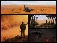 Burden Game Concept Arts