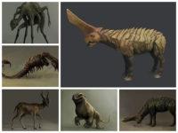 Burden Animal Concept Arts