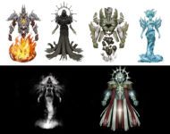 Characters Concept Art